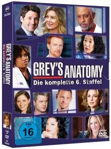 Grey's Anatomy Staffel 6, 6 DVDs