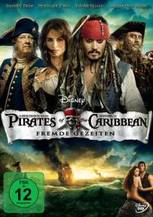 Pirates Of The Caribbean 4 - Fremde Gezeiten, DVD
