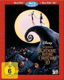 Nightmare Before Christmas (3D & 2D Blu-ray), 2 Blu-ray Discs