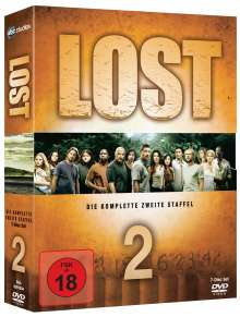Lost Staffel 2, 7 DVDs