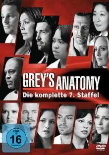 Grey's Anatomy Staffel 7, 6 DVDs