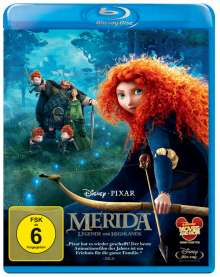 Merida (Blu-ray), Blu-ray Disc