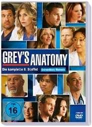 Grey's Anatomy Staffel 8, 6 DVDs