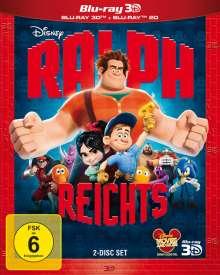 Ralph reicht's (2D & 3D Blu-ray), 2 Blu-ray Discs