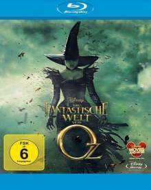 Die fantastische Welt von Oz (Blu-ray), Blu-ray Disc