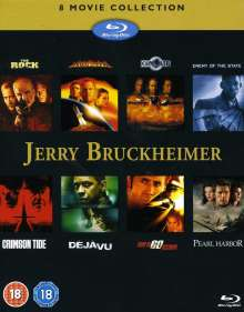 Jerry Bruckheimer 8 Movie Collection (Blu-ray) (UK Import), 8 Blu-ray Discs