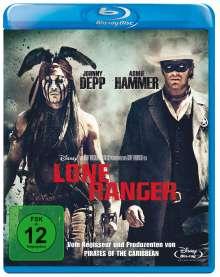Lone Ranger (Blu-ray), Blu-ray Disc