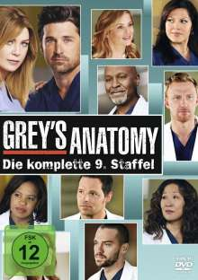 Grey's Anatomy Staffel 9, 6 DVDs