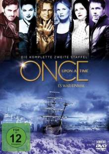 Once Upon a Time Season 2, 6 DVDs