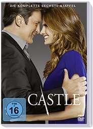 Castle Staffel 6, 6 DVDs