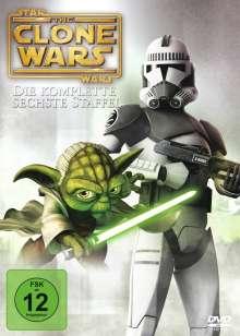 Star Wars: The Clone Wars Season 6, 3 DVDs