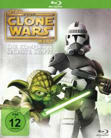 Star Wars: The Clone Wars Season 6 (Blu-ray), 3 Blu-ray Discs