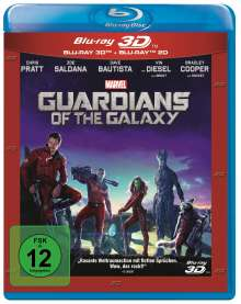 Guardians of the Galaxy (3D & 2D Blu-ray), 2 Blu-ray Discs