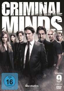 Criminal Minds Staffel 9, 5 DVDs