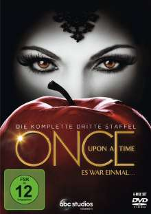 Once Upon a Time Season 3, 6 DVDs