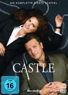 Castle Staffel 7, 6 DVDs