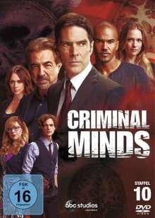 Criminal Minds Staffel 10, 5 DVDs