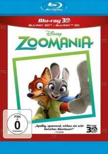 Zoomania (3D & 2D Blu-ray), 2 Blu-ray Discs