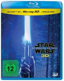 Star Wars 7: Das Erwachen der Macht (3D & 2D Blu-ray), 3 Blu-ray Discs