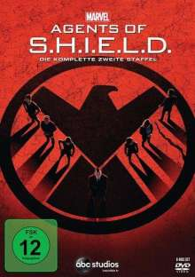 Marvel's Agents of S.H.I.E.L.D. Staffel 2, 6 DVDs