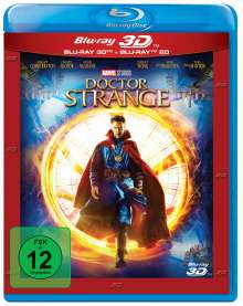 Doctor Strange (3D & 2D Blu-ray), 2 Blu-ray Discs