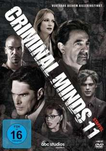 Criminal Minds Staffel 11, 6 DVDs