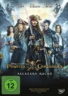 Pirates of the Caribbean: Salazars Rache, DVD