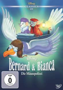 Bernard & Bianca - Die Mäusepolizei, DVD