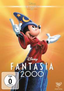 Fantasia 2000, DVD