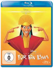 Ein Königreich für ein Lama (Blu-ray), Blu-ray Disc