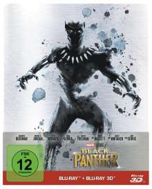 Black Panther (3D & 2D Blu-ray im Steelbook), 2 Blu-ray Discs