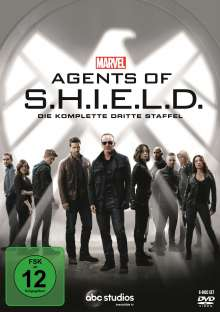 Marvel's Agents of S.H.I.E.L.D. Staffel 3, 6 DVDs