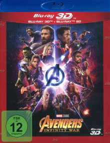 Avengers: Infinity War (3D & 2D Blu-ray), 2 Blu-ray Discs
