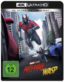 Ant-Man and the Wasp (Ultra HD Blu-ray & Blu-ray), 1 Ultra HD Blu-ray und 1 Blu-ray Disc