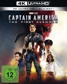 Captain America (Ultra HD Blu-ray & Blu-ray), 1 Ultra HD Blu-ray und 1 Blu-ray Disc