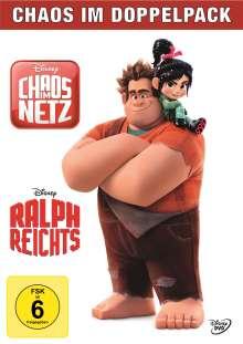 Ralph reicht's / Chaos im Netz, 2 DVDs