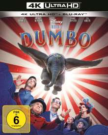 Dumbo (2019) (Ultra HD Blu-ray & Blu-ray), 1 Ultra HD Blu-ray und 1 Blu-ray Disc