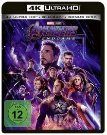 Avengers: Endgame (Ultra HD Blu-ray & Blu-ray), 1 Ultra HD Blu-ray und 2 Blu-ray Discs