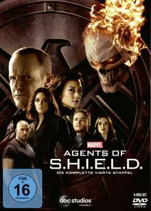 Marvel's Agents of S.H.I.E.L.D. Staffel 4, 6 DVDs