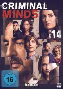 Criminal Minds Staffel 14, 4 DVDs