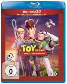 A Toy Story: Alles hört auf kein Kommando (3D & 2D Blu-ray), 3 Blu-ray Discs
