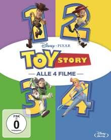 Toy Story 1-4 (Blu-ray), 4 Blu-ray Discs