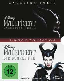 Maleficent - Die dunkle Fee / Mächte der Finsternis (Blu-ray), 2 Blu-ray Discs