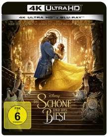 Die Schöne und das Biest (2017) (Ultra HD Blu-ray & Blu-ray), 1 Ultra HD Blu-ray und 1 Blu-ray Disc