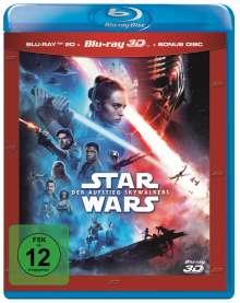 Star Wars 9: Der Aufstieg Skywalkers (3D & 2D Blu-ray), 3 Blu-ray Discs