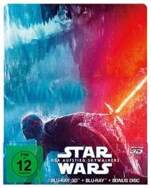 Star Wars 9: Der Aufstieg Skywalkers (3D & 2D Blu-ray im Steelbook), 3 Blu-ray Discs