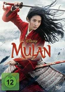Mulan (2020), DVD
