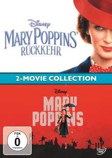 Mary Poppins / Mary Poppins' Rückkehr, 2 DVDs