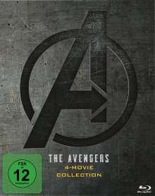 The Avengers 4-Movie Collection (Blu-ray im Digipak), 5 Blu-ray Discs
