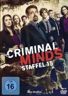 Criminal Minds Staffel 15 (finale Staffel), 3 DVDs